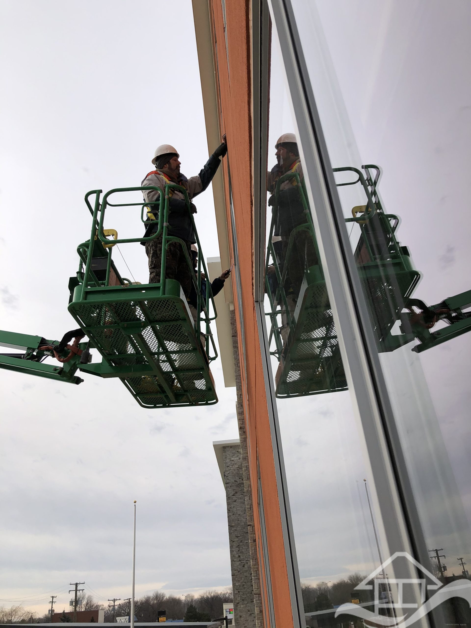 post construction window cleaning
